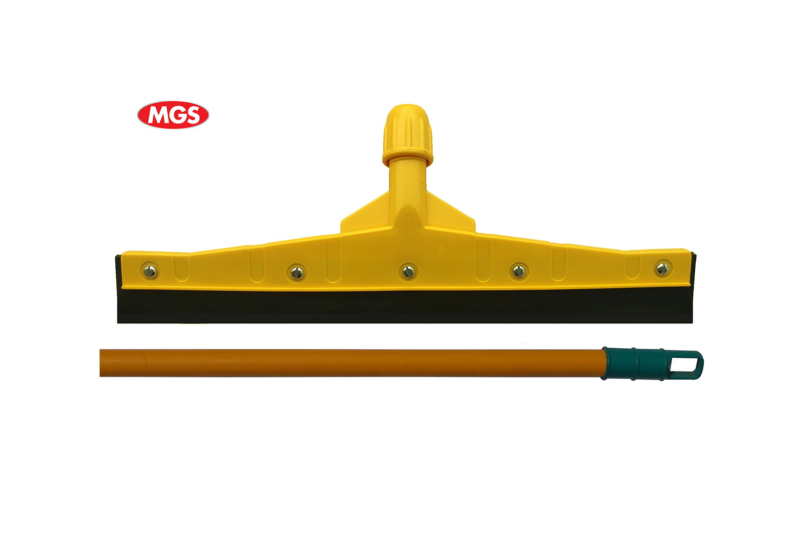 16 Inches Unbreakable Wiper with 4 Feet Powder Coating Metal Rod – Yellow Breakable Wiper 0046