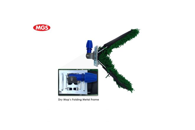 Dry Mop with Metal Folding Frame